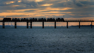 Sunset Pier Train