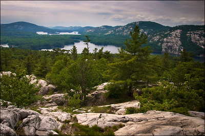 The Crack Trail. Killarney Provincial Park, Ontario.