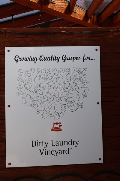 First stop, Dirty Laundry Vineyard