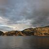 Peaceful Okanagan Lake in the evening