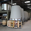 Haywire Winery - they age their wine in concrete casks