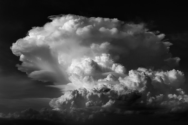 Summer Storm - Monochrome #2