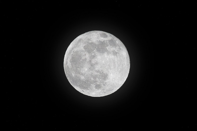 New Years Eve Blue Moon