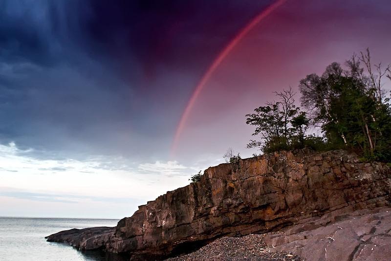 Nathan's Cliff at Lake Superior