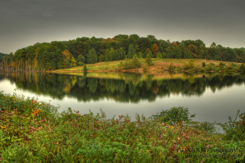 Reflecting at Merrill Creek