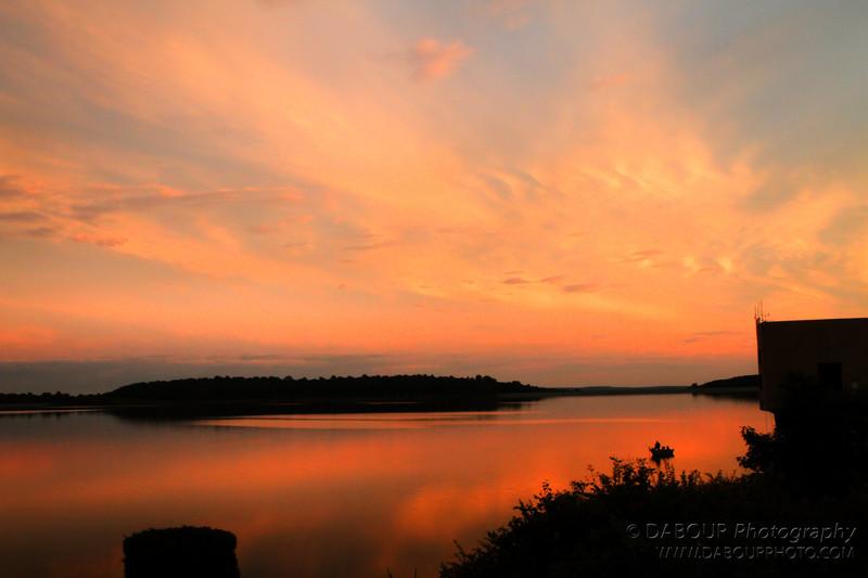 Sunset at Merrill Creek