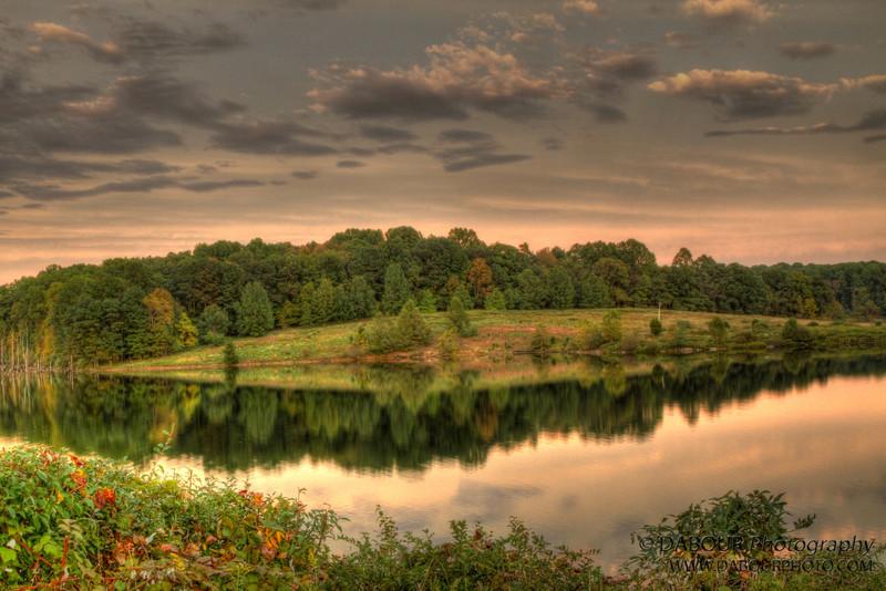 Reflections at Merrill Creek. HDR