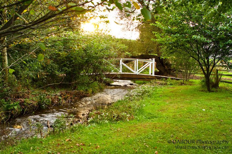River and bridge in Stewartsville