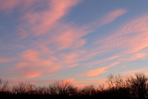 Sunrise At Huffman Lake