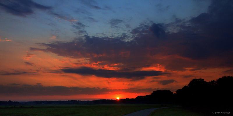 Sunrise, Searcy Bike Trail
