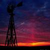 Winter Sunset, White County, Arkansas