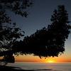 Sunset, Lake Superior, Porcupine Mountains State Park, Michagan