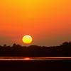 Sunset, Cache River, Arkansas