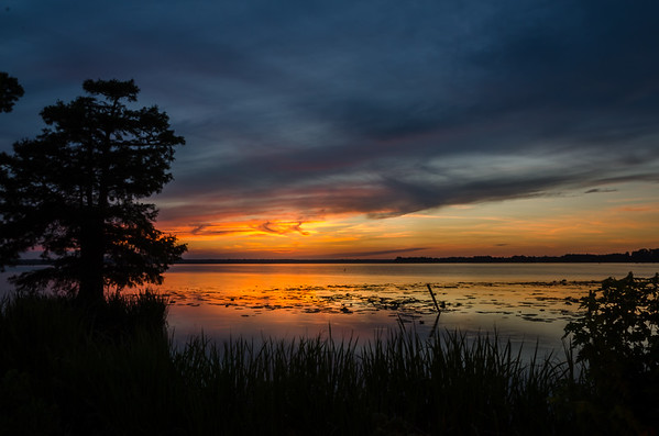 Beautiful Sunset on Reelfoot lake