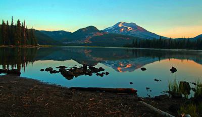 Sunrise Sparks Lake