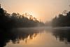 Sunrise over Blackwater River<br /> Florida<br /> 054-6151c