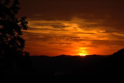 Sunrise over Huntington, WV