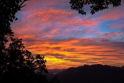 Dawn over Huntington WV