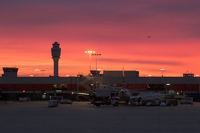 Atlanta Airport Sunrise