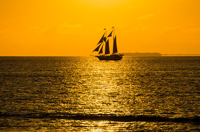 Sunset, Key West, Mallory Square, Florida