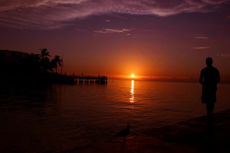 Sunrise Key West Fl. Fall 2010