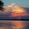 Breakwall sunset - Oswego,NY