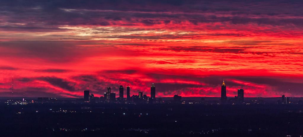 Not again, Atlanta's on fire