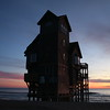 """Serendipity"" at sunrise on Mirlo Beach, Rodanthe. Novbember 29, 2009"