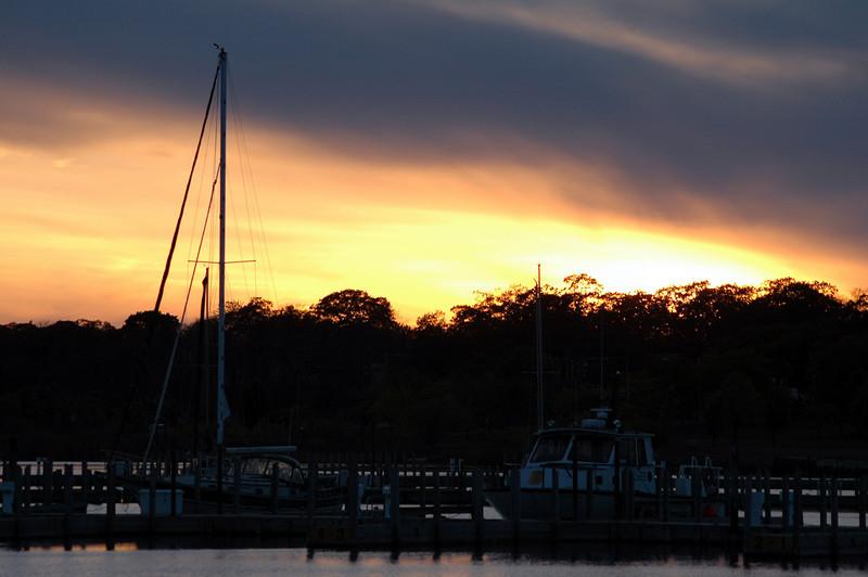 Sunset Escanaba Mi