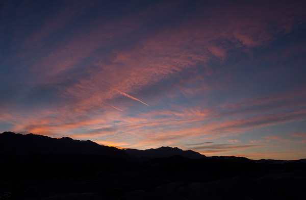 Greenwater Range from Zabriskie Point at sunrise