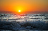 Waves at Sunrise<br /> Sebastian Beach, Florida<br /> 032-9241a
