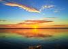 Sunrise over the Banana River<br /> Merritt Island, Florida<br /> 119-0170b