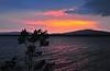 Sunset over Lake Sardis<br /> Clayton, Oklahoma<br /> 056-6475a