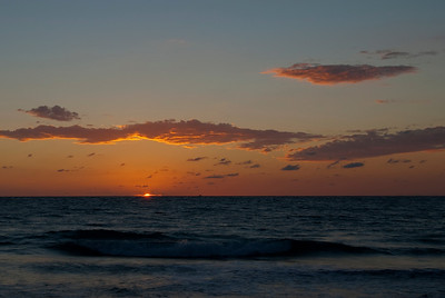 Jupiter Inlet, November Sunrise