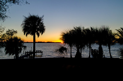 Sunset at Lemon Bay, Englewood, Florida