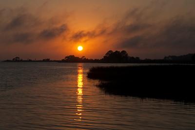 Sunset, Apalachicola, Florida