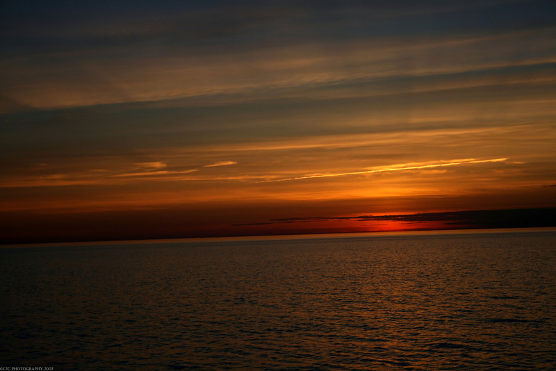Lake Ontario sunset