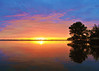 Sunrise over the Banana River<br /> Merritt Island, Florida<br /> 128-2308a