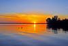 Banana River Sunrise<br /> Merritt Island, Florida<br /> 218-1998-tmc