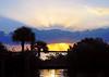 Sunrise over the Banana River<br /> Merritt Island, Florida<br /> 150-2253c