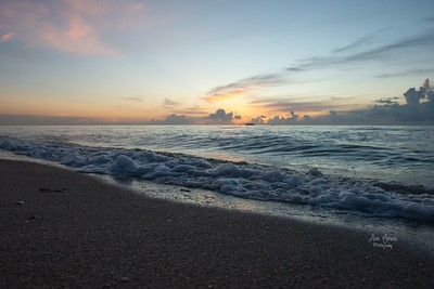 Saharan Dust at Sunrise in Fort Lauderdale Beach, FL| Florida Nature, Landscape Photographer, Home Decor Prints  | Fine Art Photography Prints Wall Art  | Sunrise Photo
