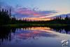 Ballaine Lake Sunset