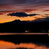 Sunset over McCall Reservoir, Longmont, CO