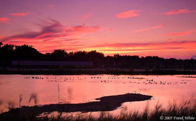 Ann Arbor sunset