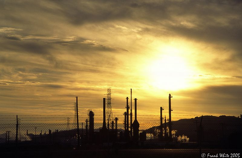 Refinery Sunset
