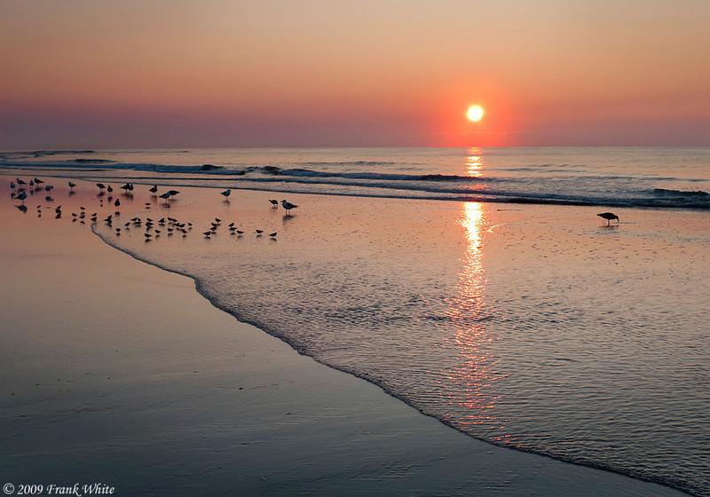 Sunrise at Sea Isle City, NJ