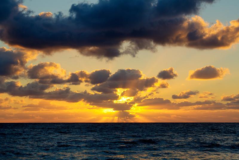 Sunrise over the Atlantic 3