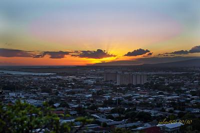SunsetKapalama2