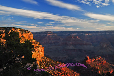 Sunrise at the South Rim of the Grand Canyon