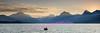 Sunrise over Lake McDonald, Glacier National Park.